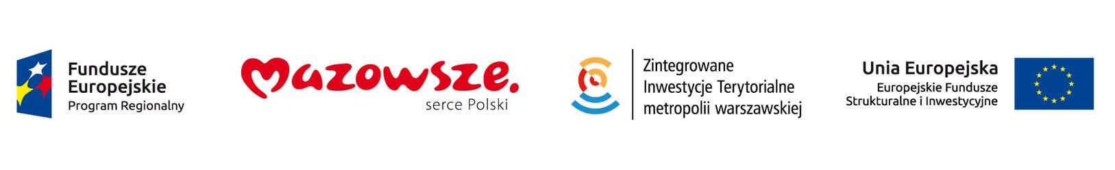 Program Rozwoju Obszaru Metropolitalnego Warszawy - Znak odwołuje się do idei rozwoju terytorialnego symbolizowanego przez różę wiatrów z łukami rozchodzącymi się z jej środka na cztery strony świata. Wspólne centrum wyraża wspólnotę celów i działań, jednocześnie poprzez zróżnicowanie kolorów i długości łuków sugeruje odrębność terytorialną gmin. Łuki tworzą uproszczoną postać Syrenki, co podkreśla powiązanie projektu z m.st Warszawą.